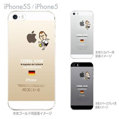 【ドイツ】【FUTBOL NINO】【iPhone5S】【iPhone5】【サッカー】【iPhone5ケース】【カバー】【スマホケース】【クリアケース】 10-ip5s-fca-gm06の画像