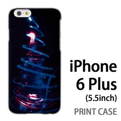 iPhone6 Plus (5.5インチ) 用『1223 ネオンツリーライトアップ エメラルド』特殊印刷ケース【 iphone6 plus iphone アイフォン アイフォン6 プラス au docomo softbank Apple ケース プリント カバー スマホケース スマホカバー 】の画像