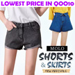 $6.9 Shorts / Skirts Collection NEW DEMIN SKIRT/SUMMER Short  jeans pantsbottom.long