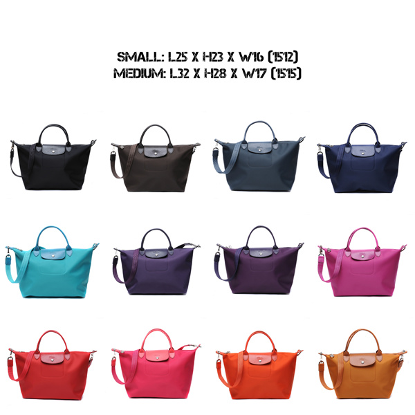 AUTHENTIC LONGCHAMP LE PLIAGE NEO SERIES TOTE BAG 1512/1515 Deals for only S$190