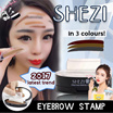 【Local Shipping】2017 Eyebrow Stamp Powder Print Eyebrow Beautifully Shaped No Drawing Fashion