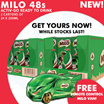 [Nestle]【BEST PRICE!】 MILO® carton sale at $24.50! 【FREE REMOTE CONTROL VAN!】