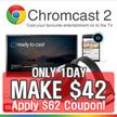 [MAKE $42!!] GOOGLE CHROMECAST 2 / GOOGLE CHROMECAST 2015  tv box / chromecast2