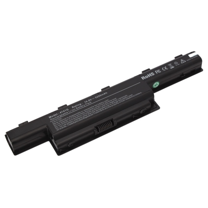 【クリックで詳細表示】6 Cell 5200mah Battery for Acer Aspire 4551 4741 5741G AS10D51 AS10D31 AS10D3E