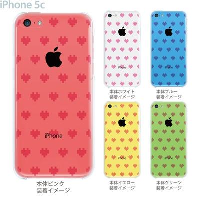 【iPhone5c】【iPhone5c ケース】【iPhone5c カバー】【ケース】【カバー】【スマホケース】【クリアケース】【クリアーアーツ】【デジタルハート】 47-ip5c-tm0009の画像
