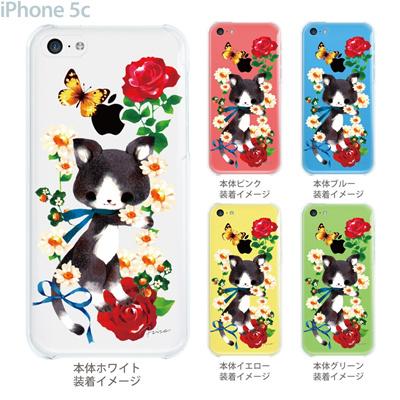 【iPhone5c】【iPhone5c ケース】【iPhone5c カバー】【ディズニー】【iPhone 5c ケース】【クリア カバー】【スマホケース】【クリアケース】【イラスト】【クリアーアーツ】【milkchai】【猫デイジー】 30-ip5c-il0014の画像