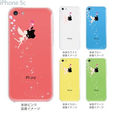 【iPhone5c】【iPhone5cケース】【iPhone5cカバー】【iPhone ケース】【クリア カバー】【スマホケース】【クリアケース】【イラスト】【クリアーアーツ】【天使にキッス】 22-ip5c-ca0071の画像