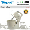 TOYOMI Stand Mixer [Model: SM 533] - Official TOYOMI Warranty Set. 1 Year Warranty. Sole Distributor In Singapore. BEST PRICE.