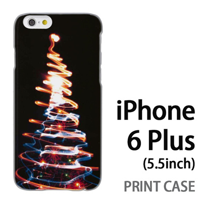 iPhone6 Plus (5.5インチ) 用『1223 ネオンツリーライトアップ ゴールド』特殊印刷ケース【 iphone6 plus iphone アイフォン アイフォン6 プラス au docomo softbank Apple ケース プリント カバー スマホケース スマホカバー 】の画像