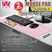 Multiple Types!! 80cm*30cm Promotional Large Mouse Pad / Anti-slip / Thick / Hello Kitty / League of Legends / Doraemon【M18】