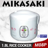 MIKASAKI 1.8L Rice Cooker  (M08P Model)