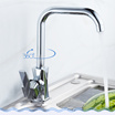 [VOOTEEN] faucet hot and cold Basin faucet Basin sinks all copper body rotation heightening puckering tap