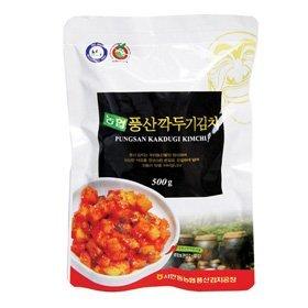 【韓国食品・韓国キムチ】 ■韓国本場の農協カクテキキムチ500g■の画像