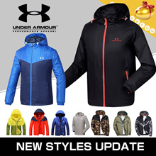 UNDER ARMOUR◆S/F Wind Jacket (Outdoor) for Men◆Wind Proof/ Waterproof/ Breathable/Quick Dry Material