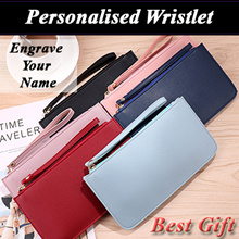 ★Great Christmas Gift★ Personalised Wristlet/Pouch/Wallet/ Best Gift Idea