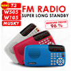 ❤New Year Gift❤Bestselling Radio!Quality assured! Portable FM Radio player with SD card Slot   *Bigger battery capacity  longer  music playing time *Built in touch light