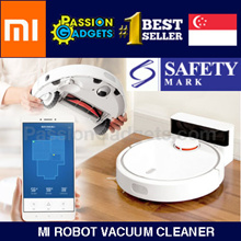 ★GST ABSORBED★LOCAL SELLER ★King of Robot★Authentic Xiaomi Mi Robot Vacuum Cleaner★5200mAh Battery
