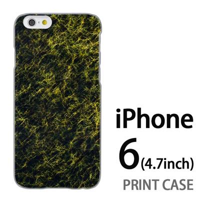 iPhone6 (4.7インチ) 用『No4 毛網 緑』特殊印刷ケース【 iphone6 iphone アイフォン アイフォン6 au docomo softbank Apple ケース プリント カバー スマホケース スマホカバー 】の画像