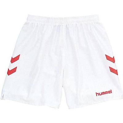 hummel(ヒュンメル)ゲームパンツHAG5004102/ホワイト×レッド【サッカーウェアプラクティスパンツ】【ハンドボール】【GAPRP】