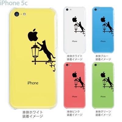 【iPhone5c】【iPhone5cケース】【iPhone5cカバー】【クリア ケース】【iPhone】【カバー】【スマホケース】【クリアケース】【イラスト】【クリアーアーツ】【ネコ】 22-ip5c-ca0085の画像