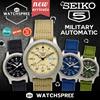 [SEIKO] SEIKO Military Automatic Nylon Strap Watches! SNK805 SNK803 SNK809 SNK805. Free Shipping!