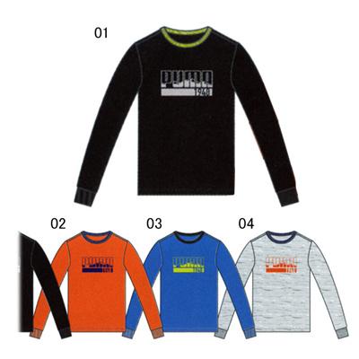 プーマ (PUMA) ジュニア GO LS Tee 835668 [分類:キッズ・子供服 長袖Tシャツ]の画像