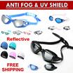 ★Swimming Goggles★ Anti fog UV shield Adult kids /Diving goggles / Prescription Swim Cap / Demist