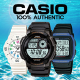 [Best Original Casio Collection]Watch Fashion Watches Electronic Sports(Paper box is free) Men women children wrist