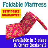 ★Mattress Hub★Singapore Mattress★Foldable Mattress★3 Sizes Available★2/3/4 Inch Available★OTHER DESIGNS AVAILABLE★BEST PRICE GUARANTEE★