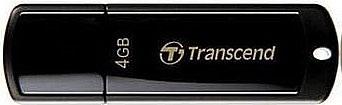 正規国内販売代理店・クロネコメル便送料無料・メカ永久保証メカサポト対応トランセンドUSBメモリ4GBJETFLASH350TS4GJF350