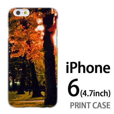iPhone6 (4.7インチ) 用『No4 木漏れ日』特殊印刷ケース【 iphone6 iphone アイフォン アイフォン6 au docomo softbank Apple ケース プリント カバー スマホケース スマホカバー 】の画像