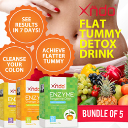 15 Days Supply [Bundle of 5] Flat Tummy Detox Drinks