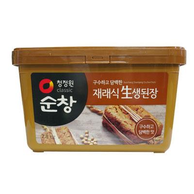 【韓国食品・韓国調味料】 ■韓国産スンチャン味噌2.8kg■の画像