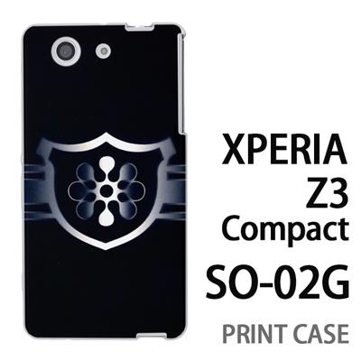 XPERIA Z3 Compact SO-02G 用『No3 緑のエンブレム』特殊印刷ケース【 xperia z3 compact so-02g so02g SO02G xperiaz3 エクスペリア エクスペリアz3 コンパクト docomo ケース プリント カバー スマホケース スマホカバー】の画像