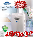 CRAZY SALE - Protect your family with BEST Clean Air HEPA UV large air purifier Haze killer ! HEPA and UV Light etc Good for asthma sinus baby !Lex etc bag / bicycle 5 layers of Filtration!