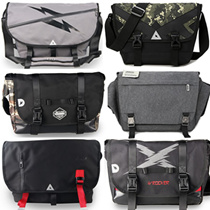★SALE★ Mens Sporty Messenger Shoulder Bag / Sling Bag / Office Bag / Laptop Bag / Travel Sling Students School Satchel / tote for use with Bicycle / Scooter / Electric Scooter / Hiking / Motorcycle