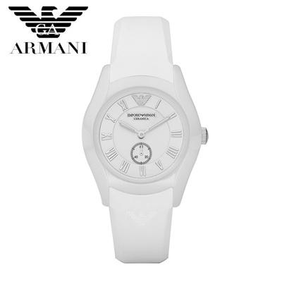 【クリックで詳細表示】EMPORIO ARMANI エンポリオ アルマーニ セラミック メンズ 腕時計 AR1433 ブラック 黒 ラバー クロノグラフ クオーツ カジュアルウォッチ