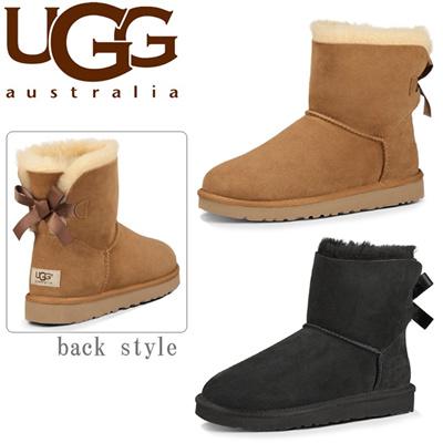 アグ オーストラリア UGG AUSTRALIA ミニ ベイリーボウ MINI BAILEY BOW 1005062 レディースの画像