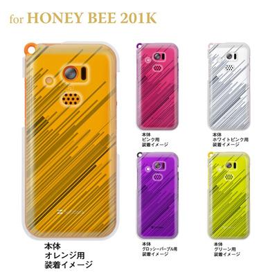 【HONEY BEE ケース】【201K】【Soft Bank】【カバー】【スマホケース】【クリアケース】【トランスペアレンツ】【スピード】 06-201k-ca0021oの画像