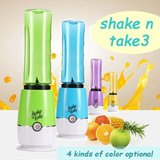 ★Get 2 Tabung ★Shake n Take 3 ★Juicer★Personal Smoothie Blender★ Supreme quality and Fashion design.Vegetable meat dry grinding(4 kinds of color