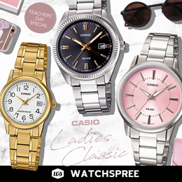 *APPLY 25% OFF COUPON* CASIO LADIES CLASSIC SERIES. Ladies Watches. Free Shipping and 1 Year Warrant