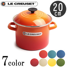 ルクルーゼ LE CREUSET N4100-20 ストックポット 20cm 5.7L キッチン 鍋