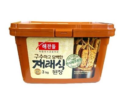 【韓国食品・韓国調味料】 ■ヘチャンドル味噌(3kg)■の画像