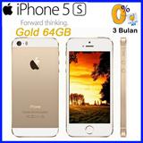 iPhone 5S 64GB - Gold | Garansi Distributor Resmi