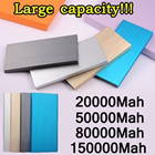 New Mobile Power Bank 150000mAh 80000Mah 50000Mah powerbank portable charger external Battery mobile phone charger Backup power bank For samsung galaxy Note4 Note3 xiaomi mi4 iphone 5 5s iphone 6 plus