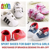 [ORTE] Sport Baby Prewalkers Shoes and Socks for Boy Girl Toddler★ Many Brands and Trending Designs ★ Super Fast Delivery ★ Babies / Kids love it ★ Grab it now ★