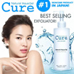 [CURE] ONLY Today Cure Natural Aqua Gel- Japan No.1 Exfoliator! 1 bottle sold every 12 sec