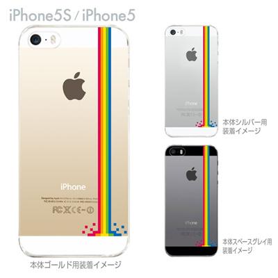 【iPhone5S】【iPhone5】【Clear Arts】【iPhone5sケース】【iPhone5ケース】【カバー】【スマホケース】【クリアケース】【クリアーアーツ】【レインボー】 47-ip5s-tm0018の画像