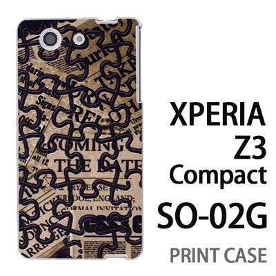 XPERIA Z3 Compact SO-02G 用『No4 ジグソーパズル』特殊印刷ケース【 xperia z3 compact so-02g so02g SO02G xperiaz3 エクスペリア エクスペリアz3 コンパクト docomo ケース プリント カバー スマホケース スマホカバー】の画像