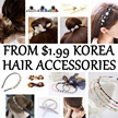 RESTOCK 1ST FEB Korea Hair Accessories $1.99 ★ Hair Clip / Hairband / Headband / Barrette / Pin / Tie / Claw / Comb / Bracelet ★ Crystal ★ Pearl ★ 2015 Latest Fashion Design ★ High Quality